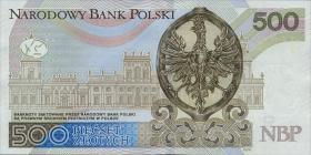 Polen / Poland P.neu 500 Zlotych 2016 (1)