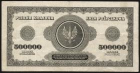 Polen / Poland P.036 500.000 Marek 1923 (3+)