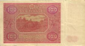Polen / Poland P.129 100 Zlotych 1946 (3)