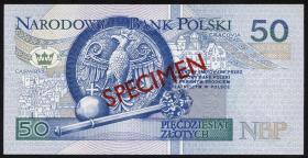Polen / Poland P.175s 50 Zlotych 1994 SPECIMEN (1)