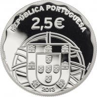 Portugal 2,5 Euro 2013 U-Boot (Silber)