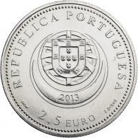 Portugal 2,5 Euro 2013 Arrecadas (CuNi)