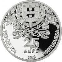 Portugal 2,5 Euro 2013 150 Jahre Rotes Kreuz (Silber)