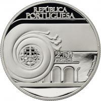 Portugal 2,5 Euro 2013 Villaret (Silber)