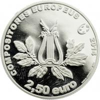 Portugal 2,5 Euro 2014 Marcos (Silber)