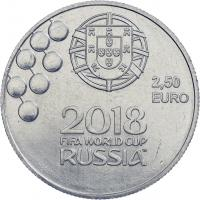 Portugal 2,5 Euro 2018 Fußball WM Russland (CuNi)