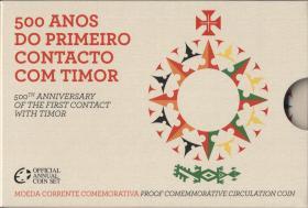 Portugal 2 Euro 2015 Timor im Folder PP