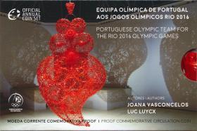 Portugal 2 Euro 2016 Olympische Spiele Rio im Folder PP