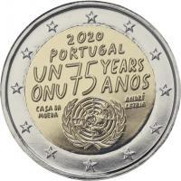 Portugal 2 Euro 2020 75 Jahre Frieden im Folder stg