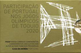 Portugal 2 Euro 2021 Olympische Spiele Tokio im Folder PP