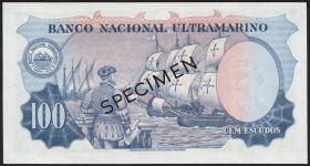 Port.-Indien / Port.-India P.43s 100 Escudos 1959 Specimen (1)