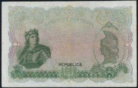 Portugal P.108 10 Mil Reis 1910 (3-)