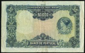 Portugal P.110 50000 Reis 1910 (3-)