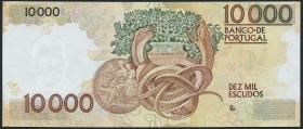 Portugal P.185c 10000 Escudos 1991 (1)