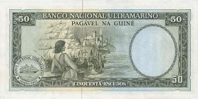 Portug. Guinea P.44 50 Escudos 1971