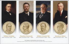 USA Präsidenten-Dollar Proof Set 2013