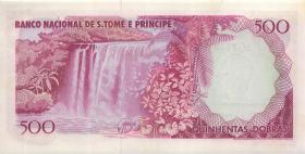 St. Thomas / Saint Thomas and Prince P.54 500 Dobras 1977 (1)