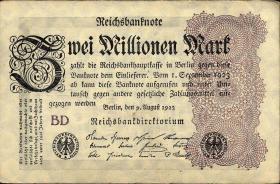 """Propagandanote """" Maria Reichsmark """" auf 2 Millionen (3)"""