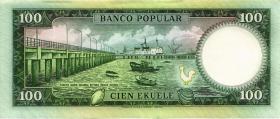 Äquatorial-Guinea P.06 100 Ekuele 1975 (1)