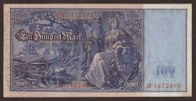 """R.035 100 Mark 1908 """"Flottenschein"""" (1/1-)"""