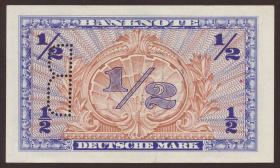 R.231c 1/2 DM 1948 B Perforation + Stempel (1)