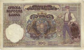 R.601: Serbien 100 Dinara 1941 (3)