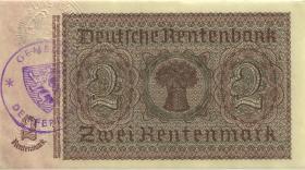 R.167f: 2 Rentenmark 1937 Differdingen (2+)