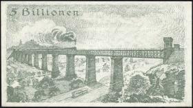 Reichsbahn Stuttgart 5 Billionen Mark 1923 (1)