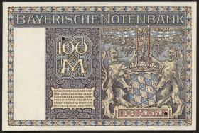 R-BAY 4D: 100 Reichsmark 1922 Druckprobe (1)