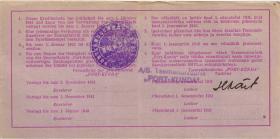 Estland / Estonia ES15a: 5 Rubel 1941 (3+)