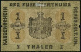 A-373 Reuss 1 Thaler 1863 (5)