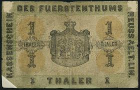 A-373 Reuss 1 Thaler 1863 (6)