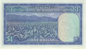 Rhodesien / Rhodesia P.34r 1 Dollar 18.4.1978 W/1 (1)