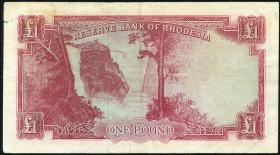 Rhodesien / Rhodesia P.25 1 Pound 1964 (3)