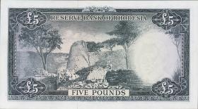 Rhodesien / Rhodesia P.26 5 Pounds 1964