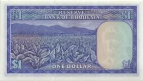Rhodesien / Rhodesia P.30k 1 Dollar 15.10.1974 (1)