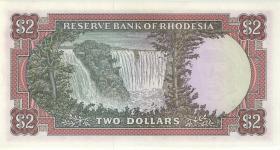 Rhodesien / Rhodesia P.31a 2 Dollars 17.2.1970 (1/1-)