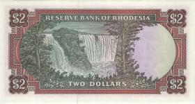 Rhodesien / Rhodesia P.31j 2 Dollars 4.3.1975 (1)