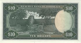 Rhodesien / Rhodesia P.33g 10 Dollars 15.9.1975 (1)