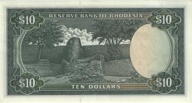 Rhodesien / Rhodesia P.33h 10 Dollars 19.11.1975 (2)