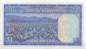 Rhodesien / Rhodesia P.34b 1 Dollar 1.11.1976 (1)