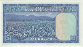 Rhodesien / Rhodesia P.34r 1 Dollar 1.11.1976 W/1 (1)