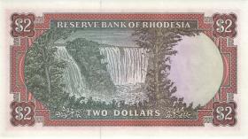 Rhodesien / Rhodesia P.35a 2 Dollars 1.3.1976 (1)