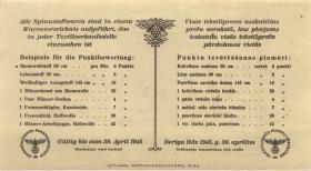 Lettland / Latvia LE 79b: 10 Punkte 30.4.1945 (1)