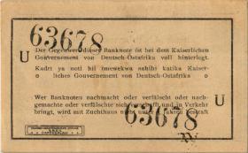 R.916n: Deutsch-Ostafrika 1 Rupie 1915 U (1-)