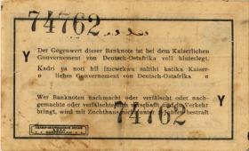 R.916p: Deutsch-Ostafrika 1 Rupie 1915 Y (3-)