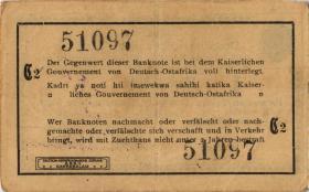 R.916s: Deutsch-Ostafrika 1 Rupie 1915 C2 (2)