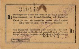 R.928h: Deutsch-Ostafrika 1 Rupie 1916 N2 (1-)