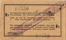 R.928p: Deutsch-Ostafrika 1 Rupie 1916 V2 (1-)