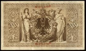 R.018: 1000 Mark 1898 (3+)